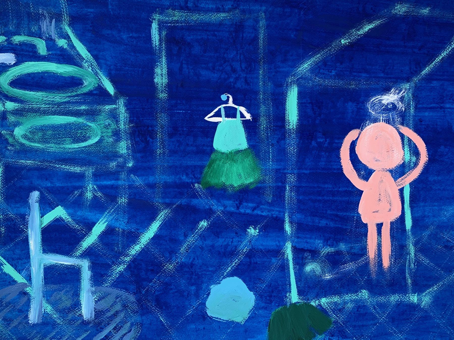 Blue 11 (Shower 1)